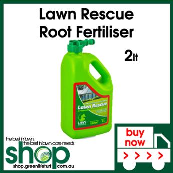 Lawn Rescue Root Fertiliser - Shop Online - Lawn Care Products