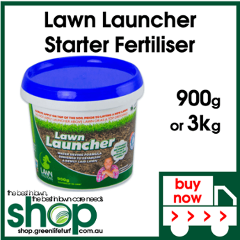 Lawn Launcher Starter Fertiliser - Shop Online - Lawn Care Products