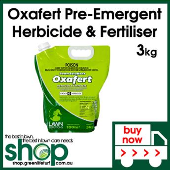Oxafert Pre-Emergent Herbicide & Fertiliser - Shop Online - Lawn Care Products