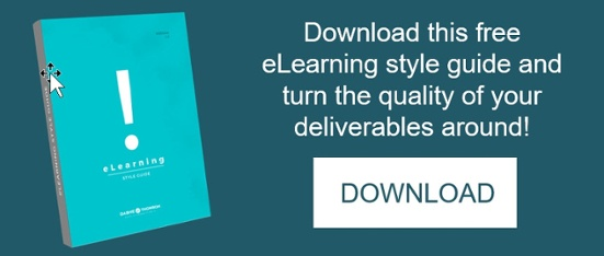 elearning style guide checklist