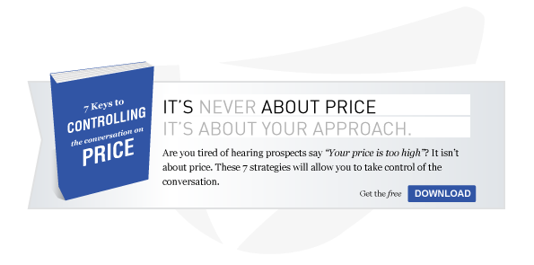 7 Keys to Conrolling Conversations on Price