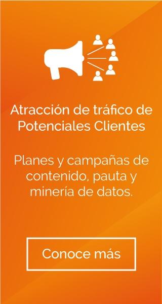 Atracción de tráfico de potenciales clientes
