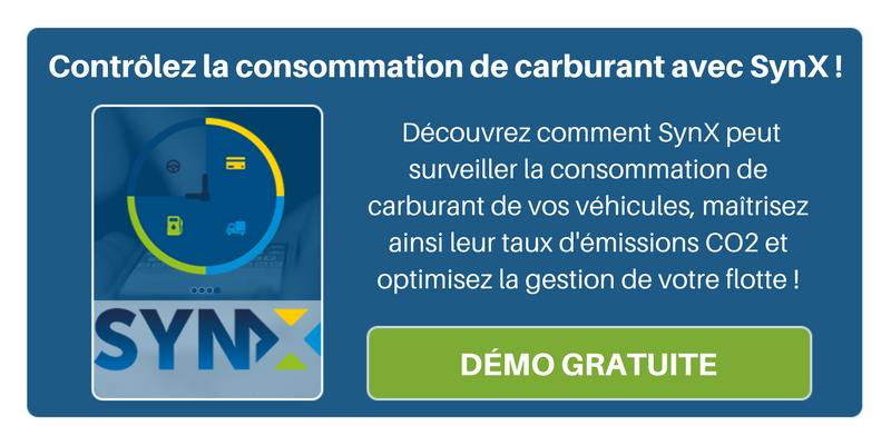Optimisez votre flotte en contrôlant la consommation de carburant grâce à SynX !