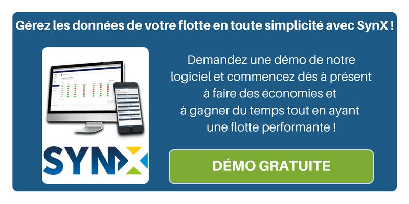 Gérez les données de votre flotte automobile en toute simplicité avec SynX ! Demandez une démo de notre logiciel et découvrez ce qu'il peut apporter à votre entreprise.