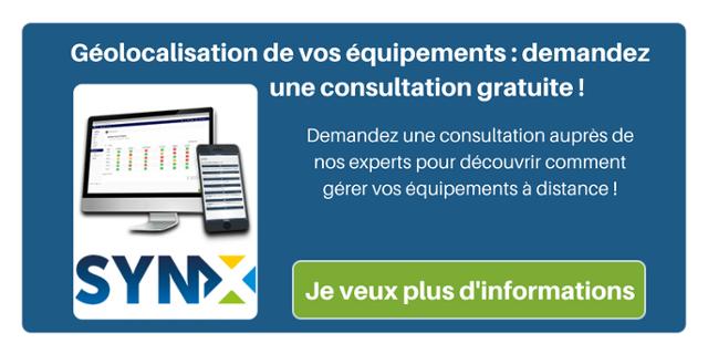 Géolocalisation de vos équipements : demandez une consultation gratuite ! Demandez une consultation auprès de nos experts pour découvrir comment gérer vos équipements à distance !