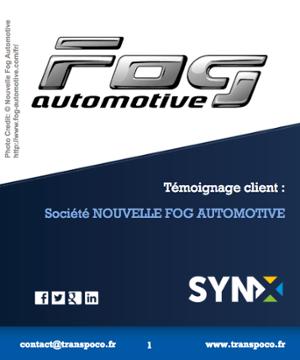 Témoignage client : société Nouvelle Fog Automotive