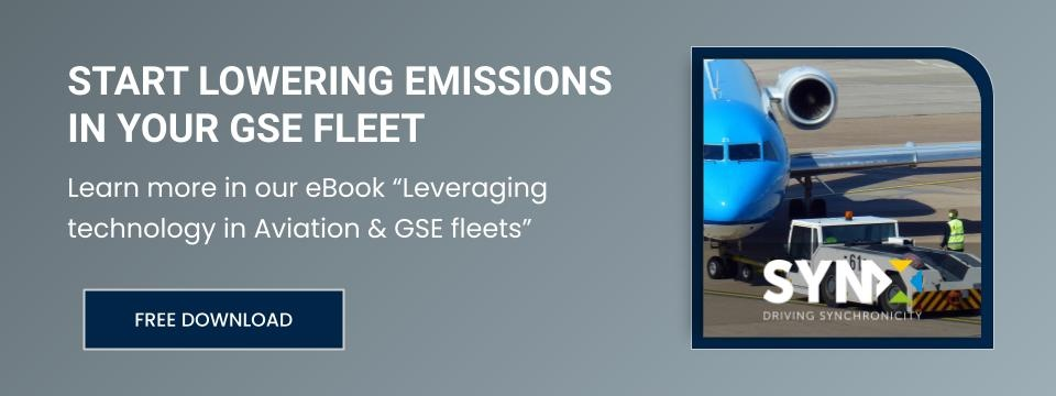 Free ebook: Leveraging technology in Aviation & GSE fleets