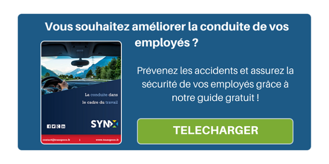Vous souhaitez améliorer la conduite de vos employés ? Prévenez les accidents et assurez la sécurité de vos employés grâce à notre guide gratuit !
