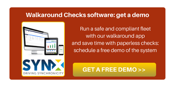 Get a FREE demo of our Walkaround Software