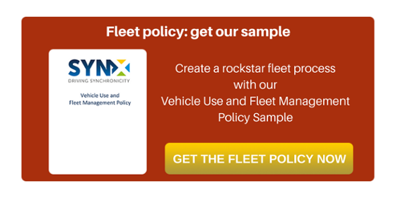 Download our free fleet policy sample