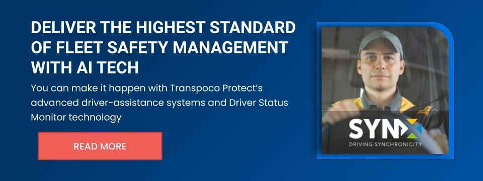 Deliver the highest standard of fleet safety management with AI tech