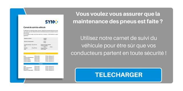Vous voulez vous assurer que la maintenance des pneus est faite ? Utilisez notre carnet de suivi du véhicule pour être sûr que vos conducteurs partent en toute sécurité !