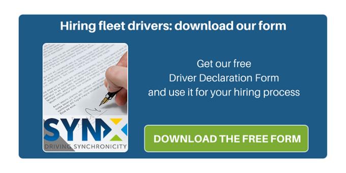 FREE Driver declaration form
