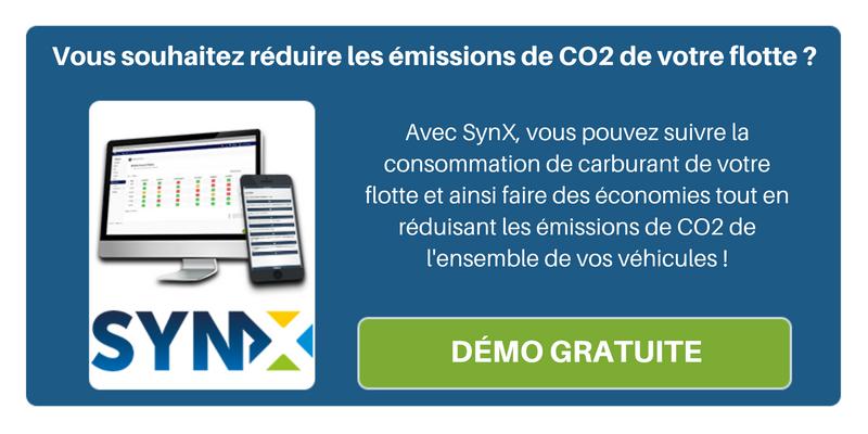 Réduisez les émissions de CO2 de vos véhicules grâce à SynX !