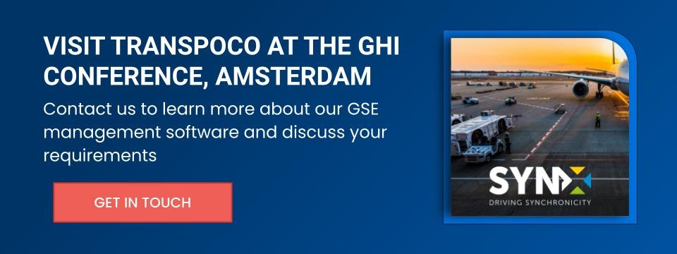 Contact us to meet at the GHI conference, Amsterdam