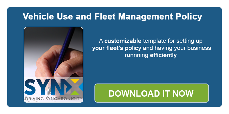 Vehicle Use and Fleet Management Policy