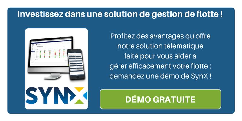 Investissez dans une solution de gestion de flotte pour toujours plus de performance : demandez une démo de notre logiciel SynX !