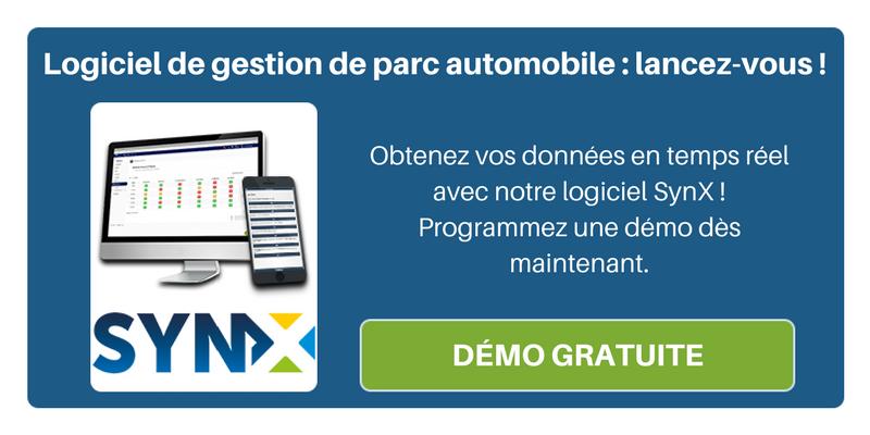 Programmez une démo de SynX, notre logiciel de gestion de parc automobile !