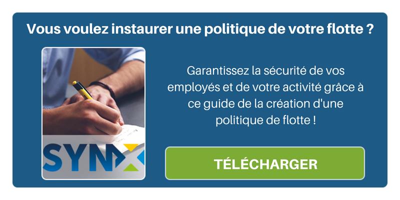 Instaurez une politique de flotte pour garantir la sécurité de vos employés au travail, téléchargez notre Ebook ici !
