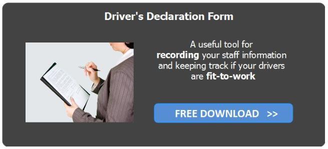driver's declaration form free download