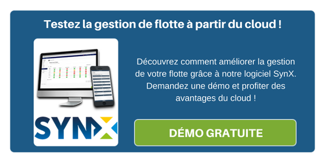 Testez la gestion de flotte à partir du cloud ! Découvrez comment améliorer la gestion de votre flotte à grâce à notre logiciel Synx !