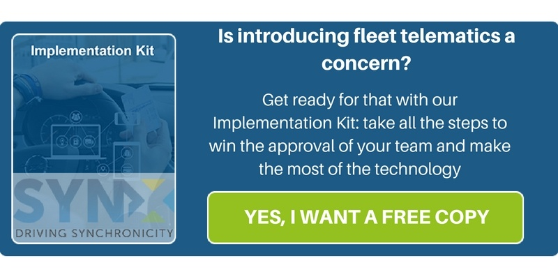 Get a free copy of our Implementation Kit to learn what the best practices are when introducing Fleet Telematics