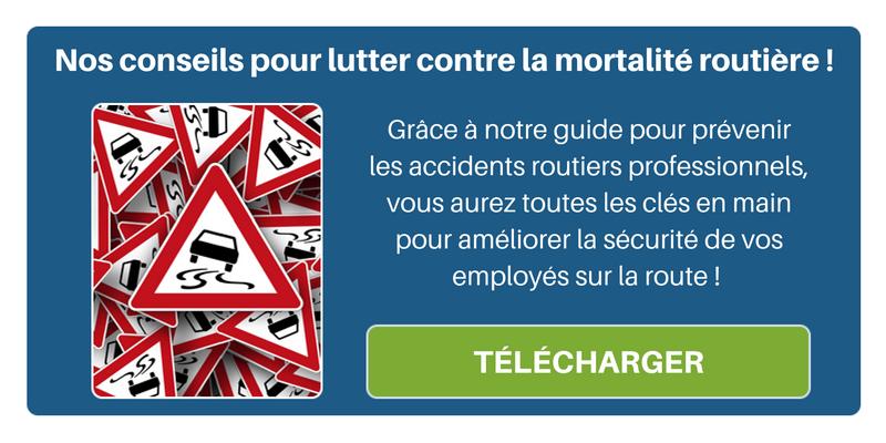 Retrouvez tous nos conseils pour lutter contre la mortalité routière dans notre guide pour prévenir les accidents routiers professionnels !