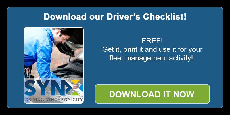 Driver's checklist