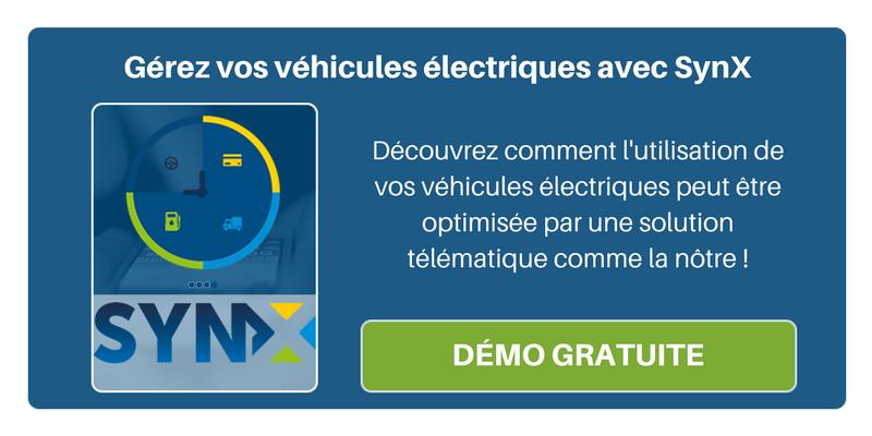 Découvrez comment l'utilisation de vos véhicules électriques peut être optimisée par une solution télématique comme SynX !