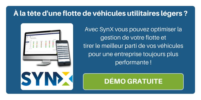 Propriétaire de véhicules utilitaires légers ? Optimisez la gestion de votre flotte avec SynX !
