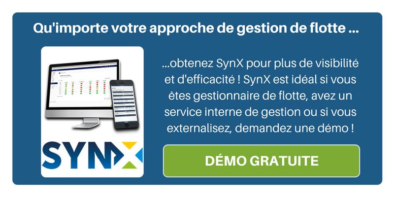Qu'importe votre approche de gestion de flotte, obtenez SynX pour plus de visibilité et d'efficacité ! Jetez un oeil à notre démo !