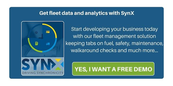 Get a demo of our vehicle tracking software SynX!