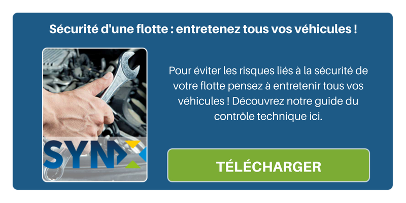 Entretenez tous vos véhicules pour éviter les risques liés à la sécurité de votre flotte !