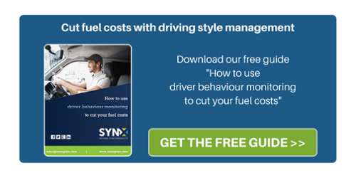 Cut fuel costs with driving style management