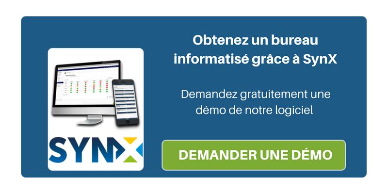 3 fonctions de la suite SynX qui aident les entreprises à atteindre un bureau informatisé