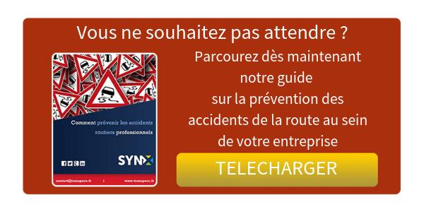 """CTA eBook """"Comment prévenir les accidents routiers professionnels ?"""""""