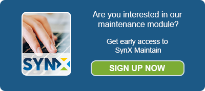 Get early access to SynX Maintain