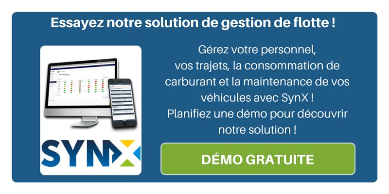 Découvrez dès à présent notre solution de gestion de flotte ! Demandez une démo de SynX pour optimiser la gestion de votre parc automobile !