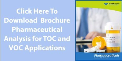 Click to Download Pharmaceutical analysis for TOC and VOC Analysis Brochure