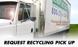 Request a recycling pick up
