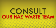 Consult Hazardous Waste Professionals