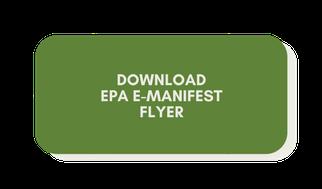 EPA E-Manifest Flyer