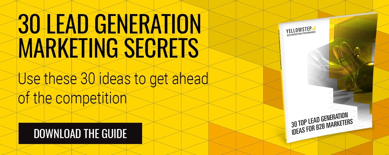 30 Top Lead Generation Ideas for B2B Marketers