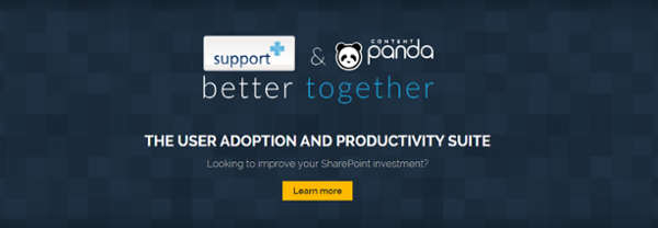 User Adoption and Productivity Suite CTA