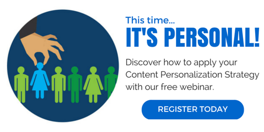 Dynamic Content Personalization Strategy webinar