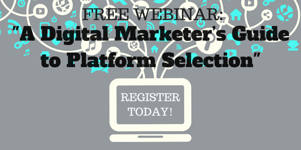 Digital Marketing Webinar Invite