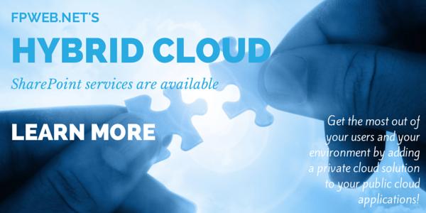 Fpweb.net's Hybrid Cloud Services
