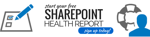 Free SharePoint Health Report Card
