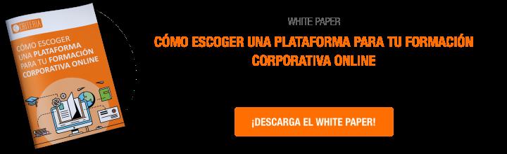 Cómo escoger una plataformas para tu formación corporativa online