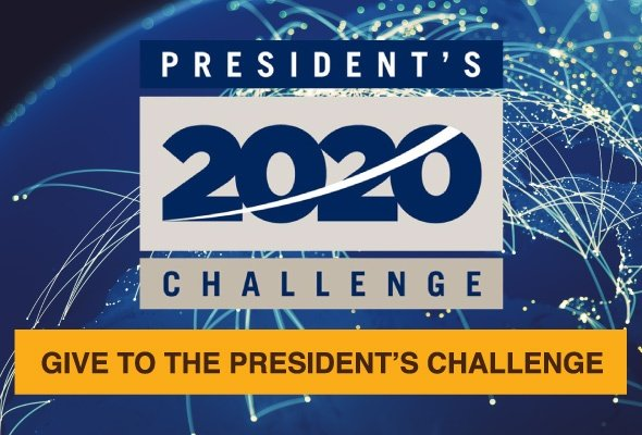 Give to the President's 2020 Challenge